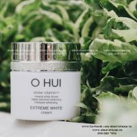 OHUI Extreme White Cream Kem dưỡng trắng da tinh thể tuyết 7ml
