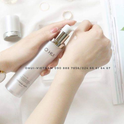 OHUI Extreme White Serum Tinh chất dưỡng trắng da tinh thể tuyết 45ml