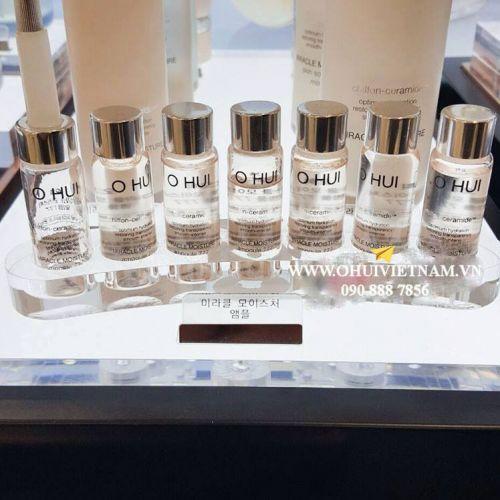 OHUI Miracle Moisture Ampoule 777 Giải pháp đặc biệt trong 7 tuần cho làn da cạn kiệt độ ẩm 7mlx7