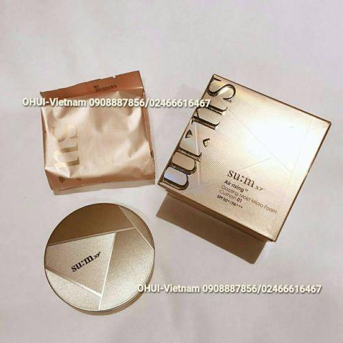 Su:m37 Air Rising TF Dazzling Moist Micro Foam Cushion SPF50+/PA+++ Phấn nước che phủ hoàn hảo cho da khô thiếu sức sống 15gx2