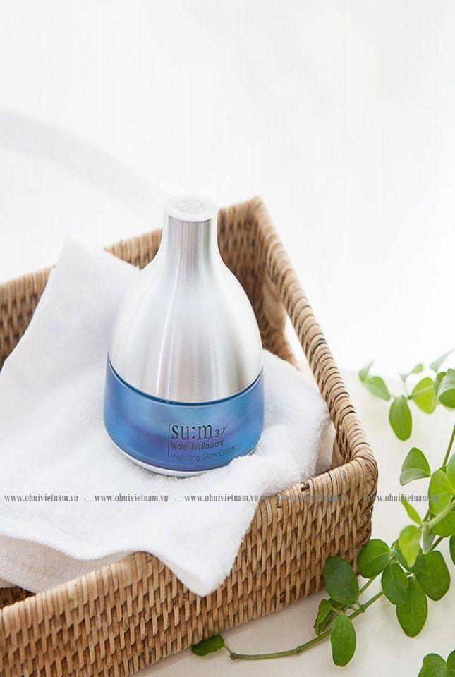 Su:m37 Water-full Radiant Hydrating Glow Cream Kem dưỡng trắng da cao cấp xóa tan sự xỉn màu trên da, mang lại sắc da sáng trong rạng rỡ 50ml