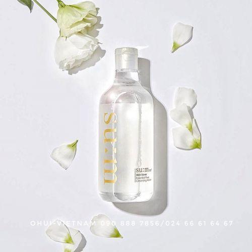 SU:M37 Skin Saver Essential Pure Cleansing Water Nước tẩy trang giàu ẩm mang lại làn da sạch sẽ, dịu nhẹ và sảng khoái 100ml