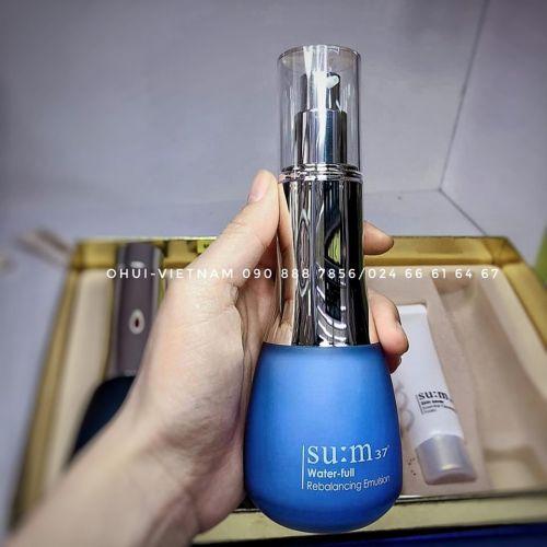 Su:m37 Water-full Rebalancing Emulsion Sữa dưỡng lên men dưỡng ẩm sâu 120ml