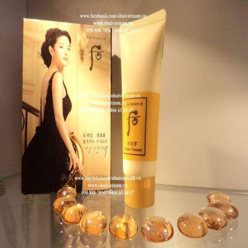 Whoo Facial Cream Cleanser Kem tẩy trang Đông Y 40ml