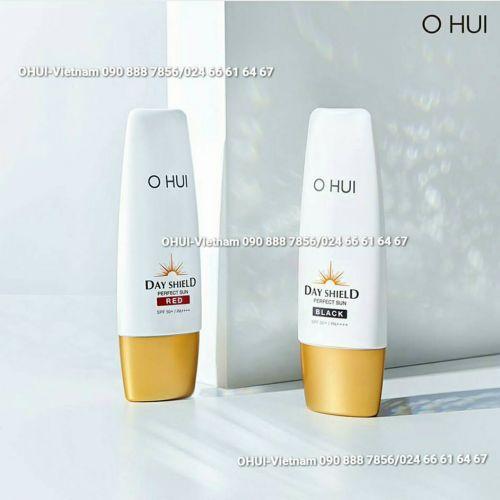OHUI Perfect Black/Red SPF50+/PA++++: Kem chống nắng chống trôi nước 50ml