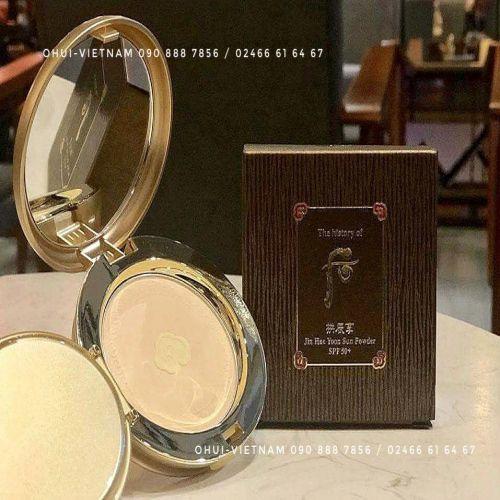 Whoo  Jin Hae Yoon Sun Powder SPF50+/PA++++ Phấn chống nắng Đông Y 12g