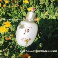 Whoo Radiant White Emulsion Sữa dưỡng trắng da và chống lão hóa Đông Y Hoàng Cung 110ml
