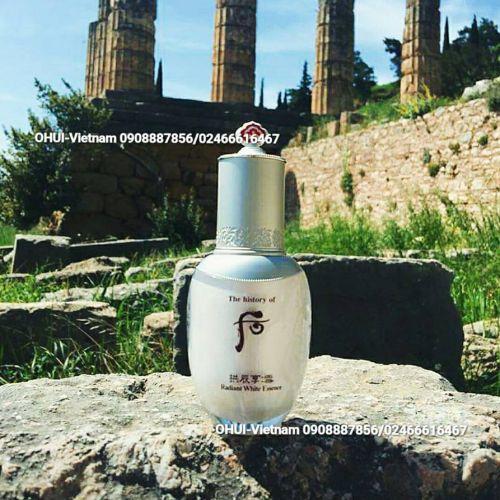 Whoo Radiant White Essence  Tinh chất cô đặc dưỡng trắng da và chống lão hóa Đông Y Hoàng cung cao cấp 45ml