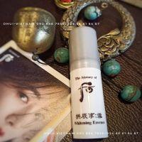 Whoo Radiant White Essence  Tinh chất cô đặc dưỡng trắng da và chống lão hóa Đông Y Hoàng cung cao cấp 4ml