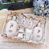 Whoo Seol Royal Whitening Special Set 7pcs  Set Trọn bộ set dưỡng trắng da Hoàng tộc 323ml